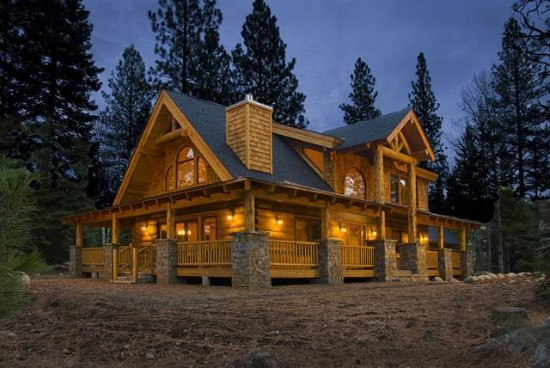 Mountain View Lodge 1 - Natural Element Homes